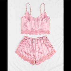 ❤️Satin Cami top & short set